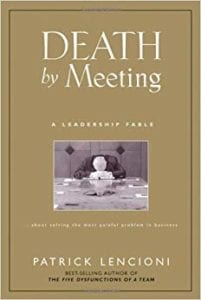 Death by Meeting - Gary's Blog - Fuse.Cloud